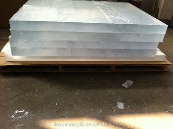 A3 size Acrylic Clear Sheet 420 x 297 x 10mm Crystal Clear thicker Sheet