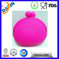 Candy Color Soft Silicone Coin Purse & Multi-Purpose Pouch Combo Set wallet