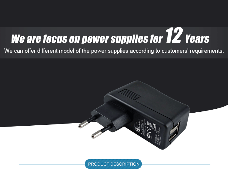 9v 0.5a 500mA ac/dc adapter 9vdc usb power adapter for DVD player