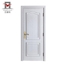 FDA Approved customised fancy white best wood door design