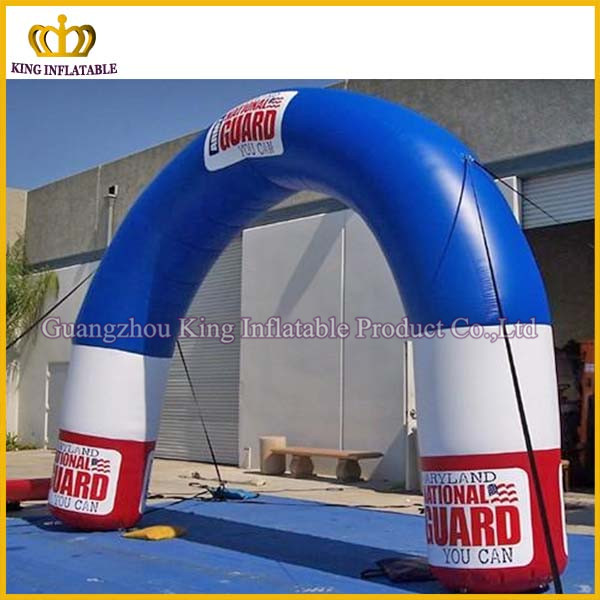 Outdoor christmas decorative inflatable lighting arch,inflatable arch rental
