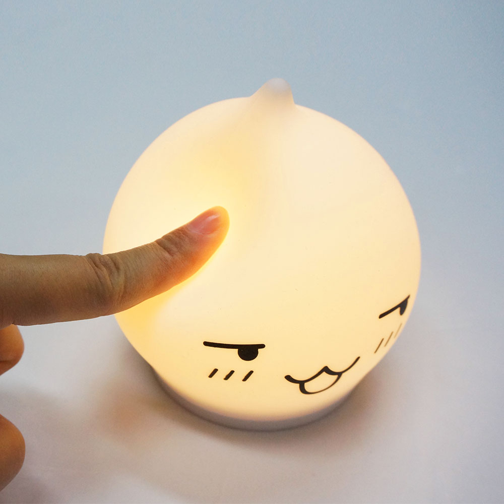 Custom design LED Light for children silicone night light touch lamp