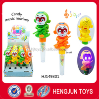 Plastic Surprise Toy Candy Monkey With