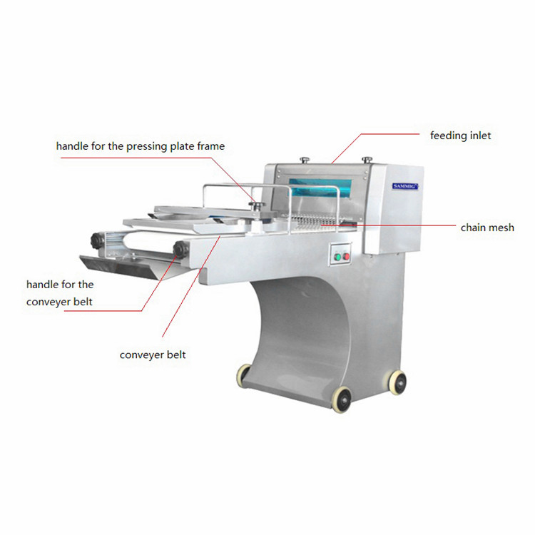 Industrial Professional Automatic Bread Bread Dough Moulder  Maker Toast Dough Molder / Loaf Bread Moulder / Baguette Moulder