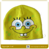 Baby Fashion Knitted Winter Beanie Hat With Top Ball