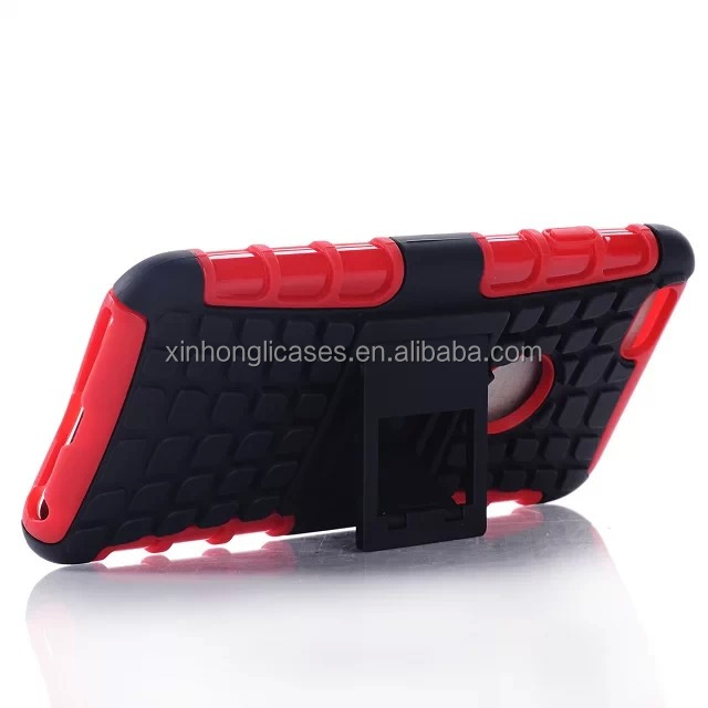 New product hybrid tpu&pc stand case with clip for iphone 6 with alibaba china manufacturer
