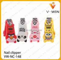 cute cartoon plastic nail clipper for kids,nail cutter