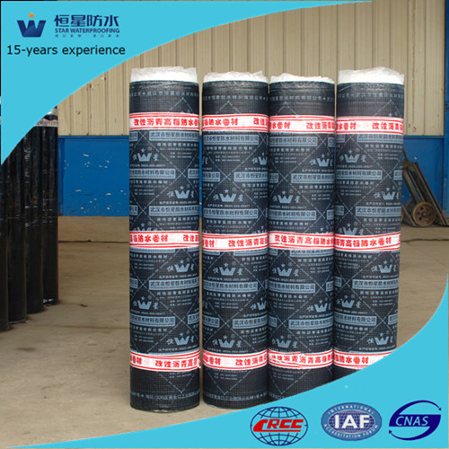 4mm APP modified bitumen waterproof tunnel material