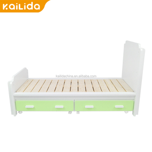 Top quality powder coated solid wood plank bed natural twin cheap used bunk beds for sale alibaba supplier