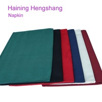high quality 100% spun polyester table napkin for hotel and restaurant