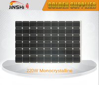 Quality-assured factory price solar panel 220w 12v