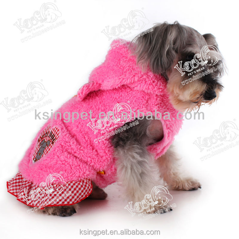 Cute Delicious Cake Dog Cotton Coat