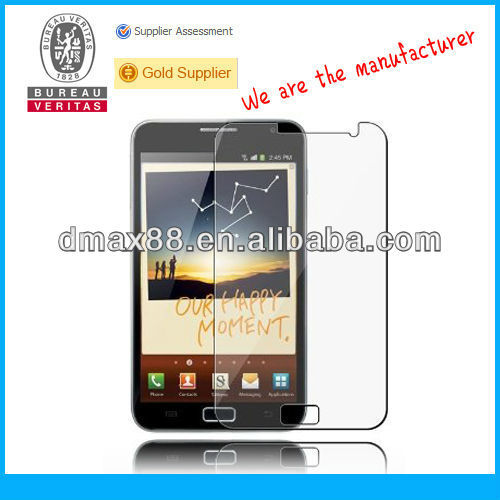 TFT lcd clear screen protectors for samsung galaxy note i9220 oem/odm (High Clear)