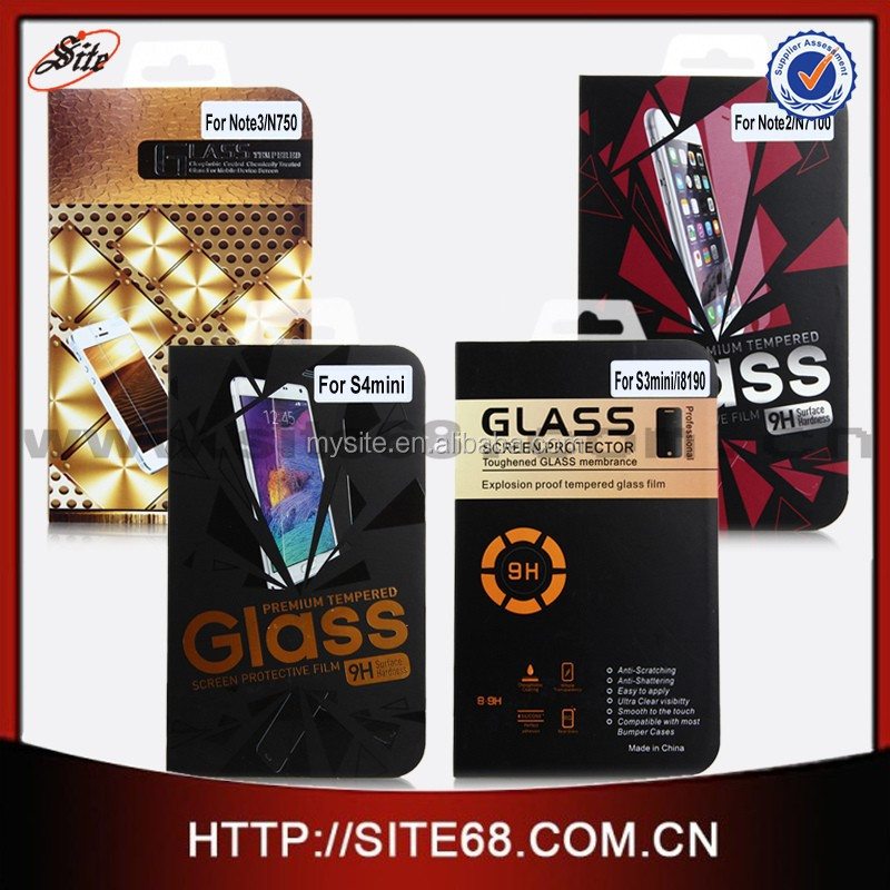 2015 most popular cell phone screen protector glass for moto E