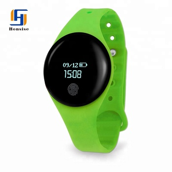 New Products On China Market Waterproof Silicone Smart Watch Bracelet With Call Reminder