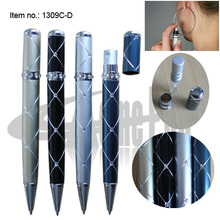 Original Design Unique Multifunction Ballpoint Pen with Atomizer Computer engraving classic Pattern for Make Up Products Gifts