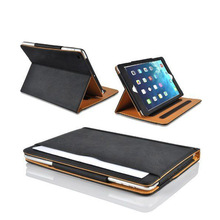 Luxury classic Leather case for ipad mini4 Book Style Luxury Leather Card Smart Protective Flip Stand Case for ipad mini4