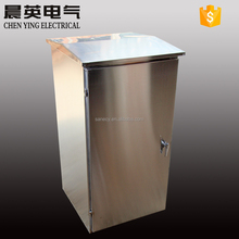OEM 304 Stainless stell outdoor floor standing electric cabinet