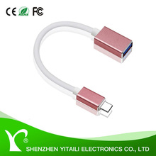 USB Type C to USB 3.0 Type A Adapter, Charge and Sync Cable, On The Go (OTG Host Cable) for Type-C Supported Devices