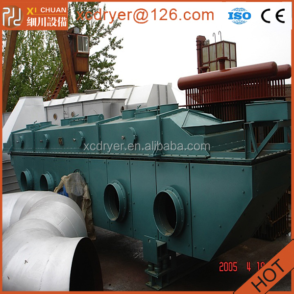 viberating fluidized bed dryer for chicken essence