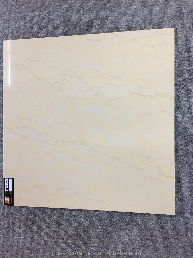 cheap price 60x60 double layer yellow natural stone porcelain floor tiles
