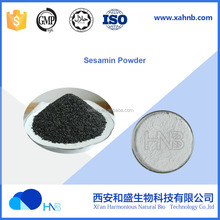 Sesamin 98% Nautral black Sesame Seed Extract with Antioxidant Benefit