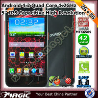 Anroid 6577 cortex-a9 dual core smart mtk mobile phone