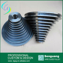Polished Hvof Spray Ceramic Wire Drawing Cone Pulley