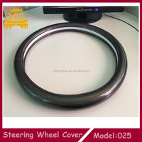 carbon fiber steering wheel cover for all car