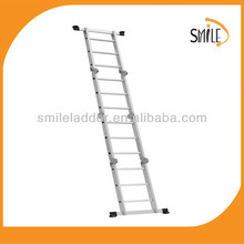 EN131 GS Smile ML-102A telescopic ladder wooden ladder stools