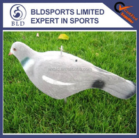 hot sale Custom half shell flocked 3D hunting pigeon decoy