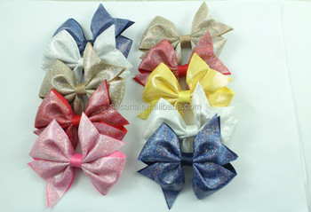 3.5 '' Sale Baby Girl Boutique Hair Bow Solid Grosgrain Pinwheel Hairpin
