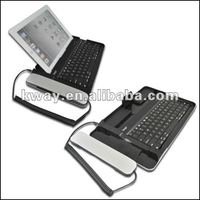 Aluminum wireless bluetooth keyboard for ipad 2/The new iPad 3 with telephone KOA001