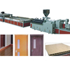 PVC door board extrusion machine/PVC door panel making machine