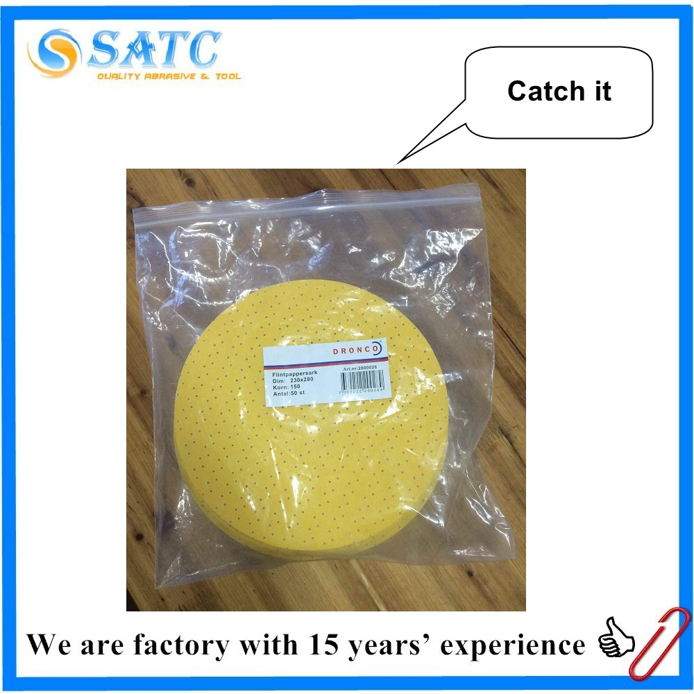 nylon scouring pad ,Yellow Drywall sanding disc
