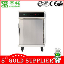 Shentop STPO-5C1D Heat preservation dining car food warmer cart Commercial air circulation insulation dining car