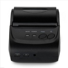Portable Printer 58 mm BluetoothThermal Printer, Bluetooth USB Serial port Support for Windows Android IOS