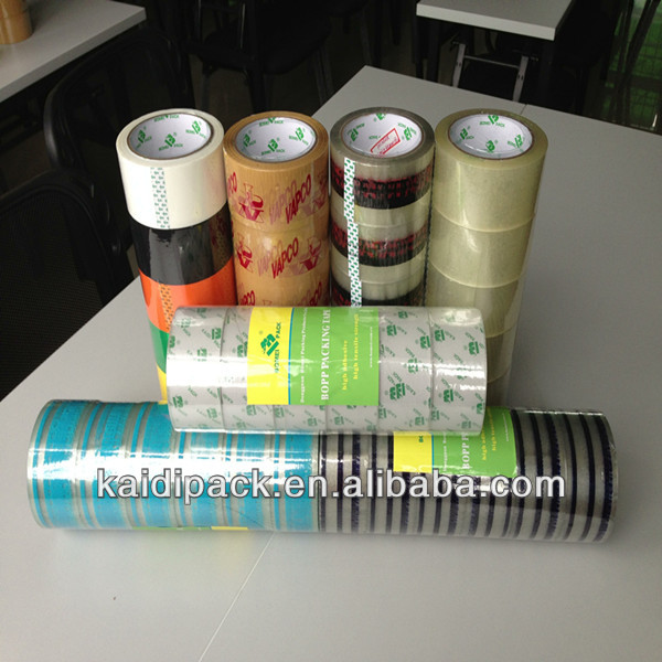 printed opp adhesive packing tape