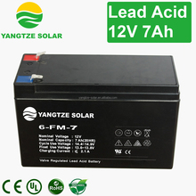 Yangtze Cheap new leader battery 12v 7ah battery