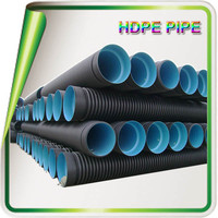 100mm large diameter hdpe pipe