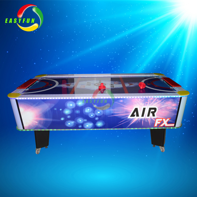 factory coin operated table air hockey simulator fantasy hockey ball shooting game machine