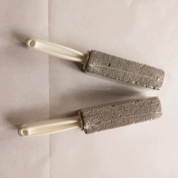 wc toilet pumice stone with handle compete with pumie scouring stick
