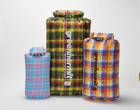 Plaid Dry Sack for outdoor sports and camping activities