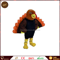 Special promotional Holiday Turkey factory cartoon mascot costume