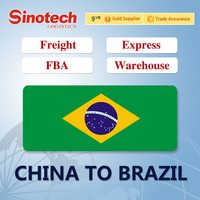 shipping logistics freight forwarder air freight China to GRU/VCP sao paulo Brazil