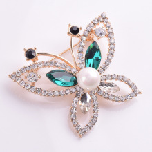 Bishun Diamond Studded Butterfly Brooch Pins for Women China Wholesale Brooch Pins