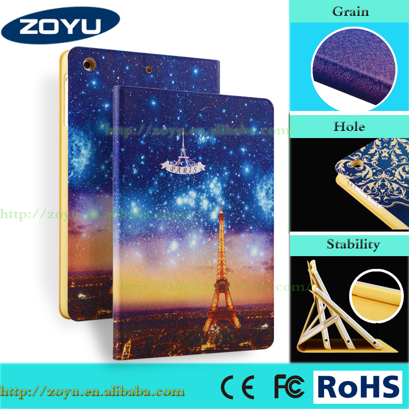 For iPad mini iPad mini 1 2 3 Case Pattern Printing Kickstand High Impact Case Hot Selling 8 inch