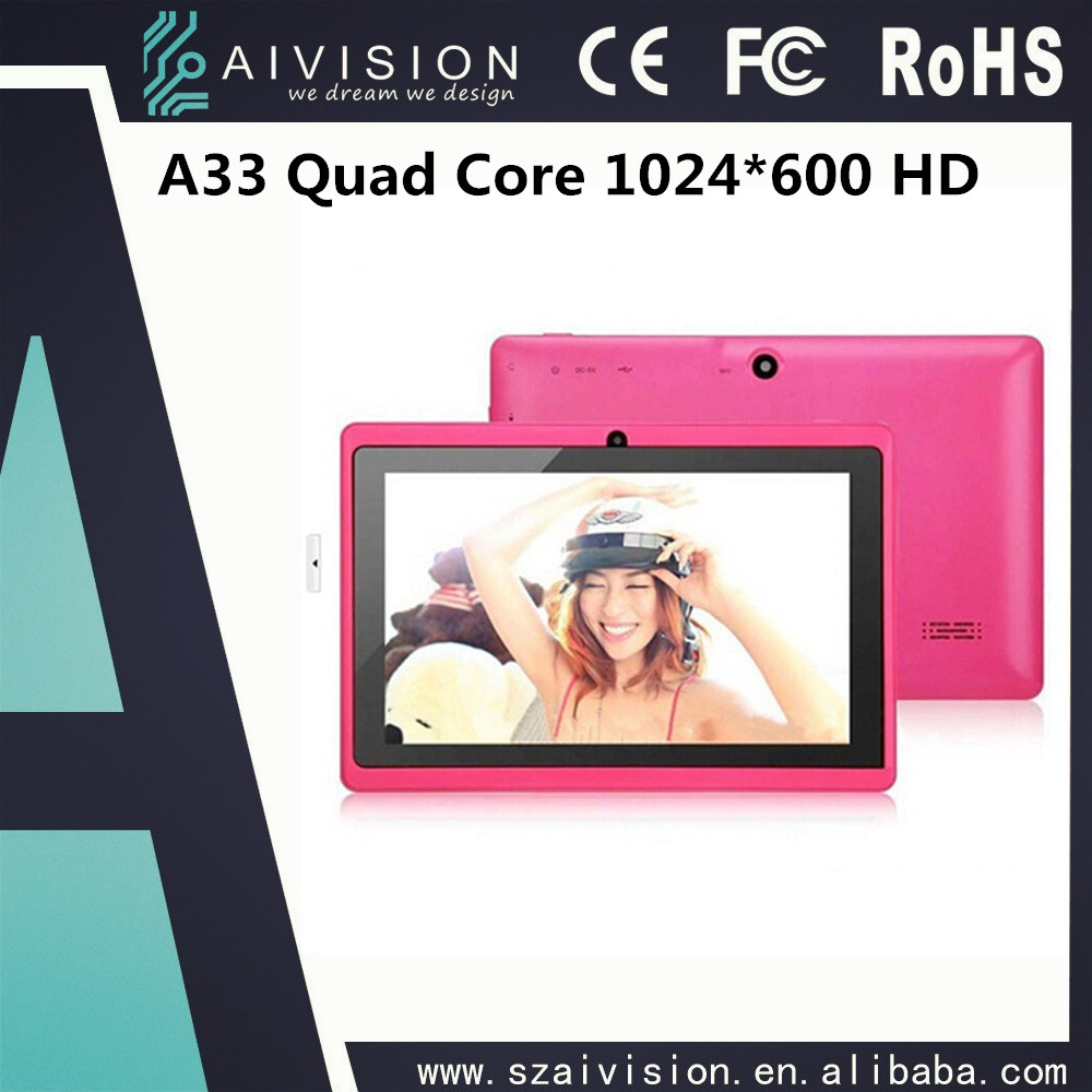 A33 Quad Core/512M+4G/Capacitive touch Screen/7 inch games <strong>tablet</strong>