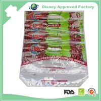 High quality diecut plastic fresh grape protection bag with zip lock