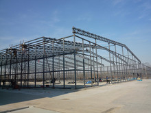 HOT SALE Steel structure power plant project